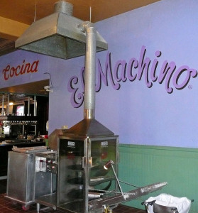 """El Machino"": an early prototype of The Machine? (photo by Mel Albaum)"