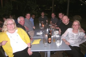 The @pkgcache pirate Dine Around at IDUG in Phoenix
